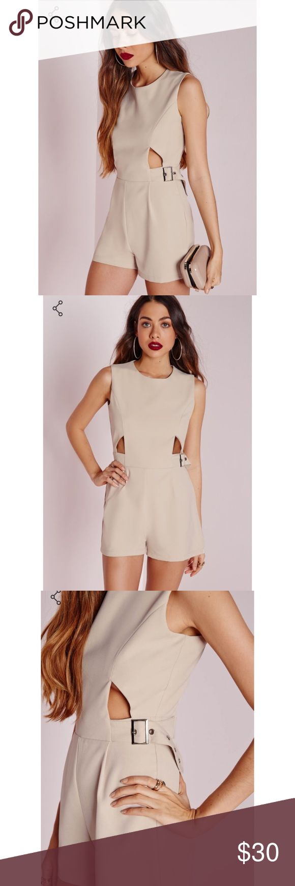 NWT Missguided Buckle Playsuit US 8 • Sold out online • Originally $47.60 Missguided Pants Jumpsuits & Rompers