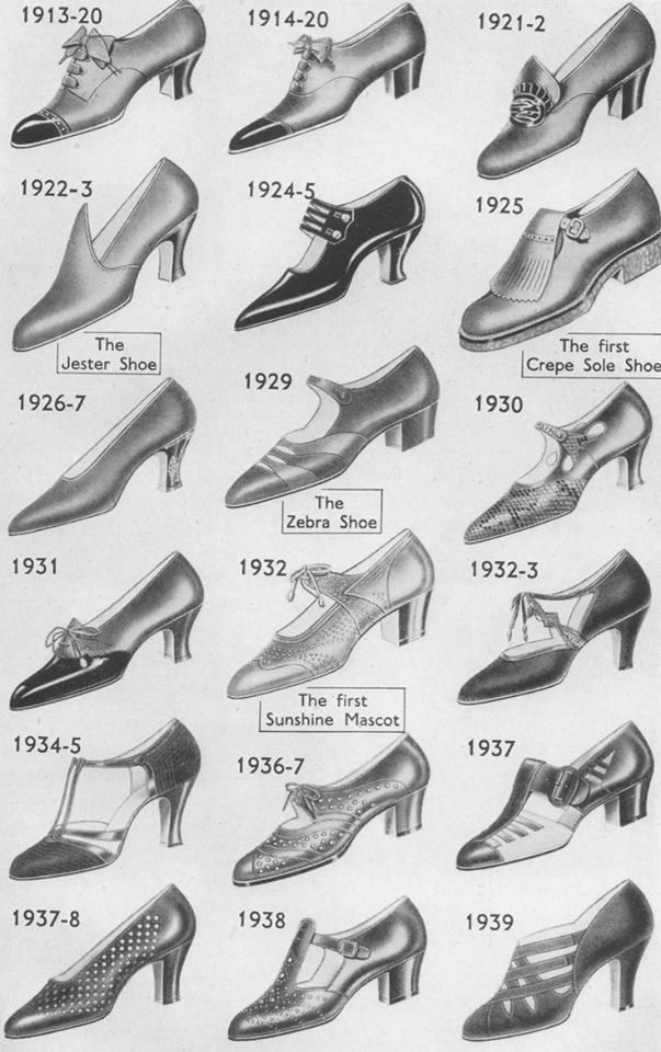 1920s shoe collection