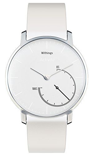 Withings Activité Steel - Activity and Sleep Tracking Watch - Mineral Glass and Stainless Steel | shopswell