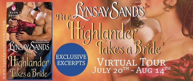 Jen's Reading Obsession: The Highlander Takes a Bride (Scottish Highlander #3) by Lynsay Sands - Blog Tour, Excerpt & Giveaway