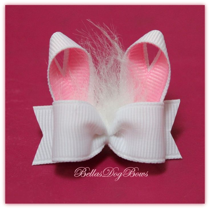 Cute hairbow for a little girl's Easater.