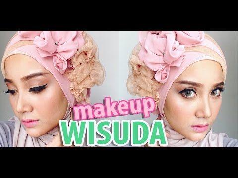 MAKEUP + HIJAB WISUDA | Produk Lokall Indonesia | Linda Kayhz - YouTube