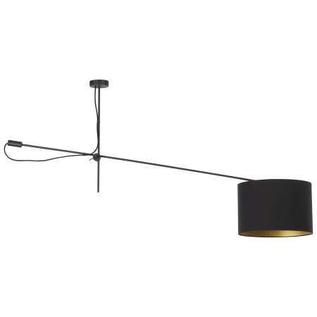 Plafon LAMPA sufitowa VIPER 6641 Nowodvorski czarny