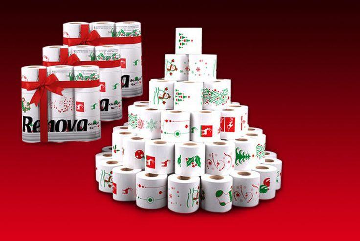 27 Rolls of Festive Toilet Paper