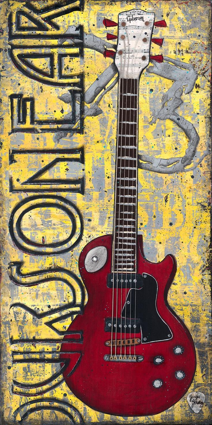 81 best Guitar Art images on Pinterest | Guitar art, Acrylic nail ...