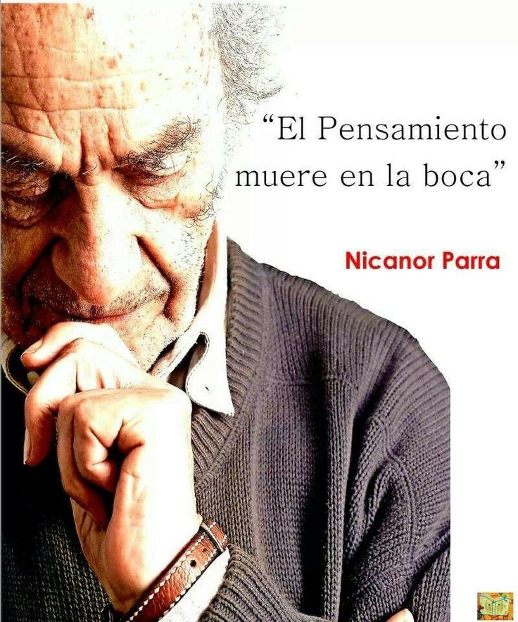 Nicanor Parra.