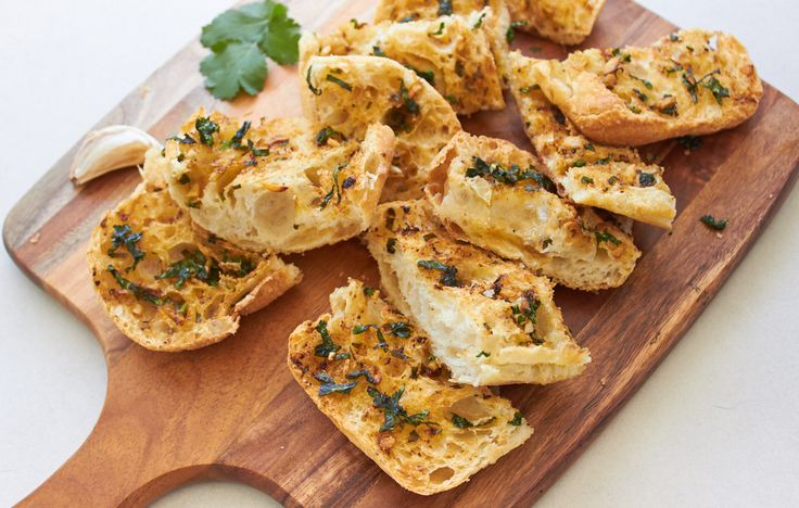 Asian Inspired Vegan Garlic Bread
