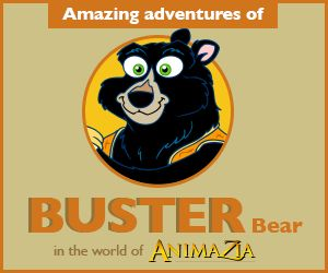 BusterBear.ca Stories, Fun and Educational Videos for kids. Teach children about Environment. Part of the world of Animazia.com