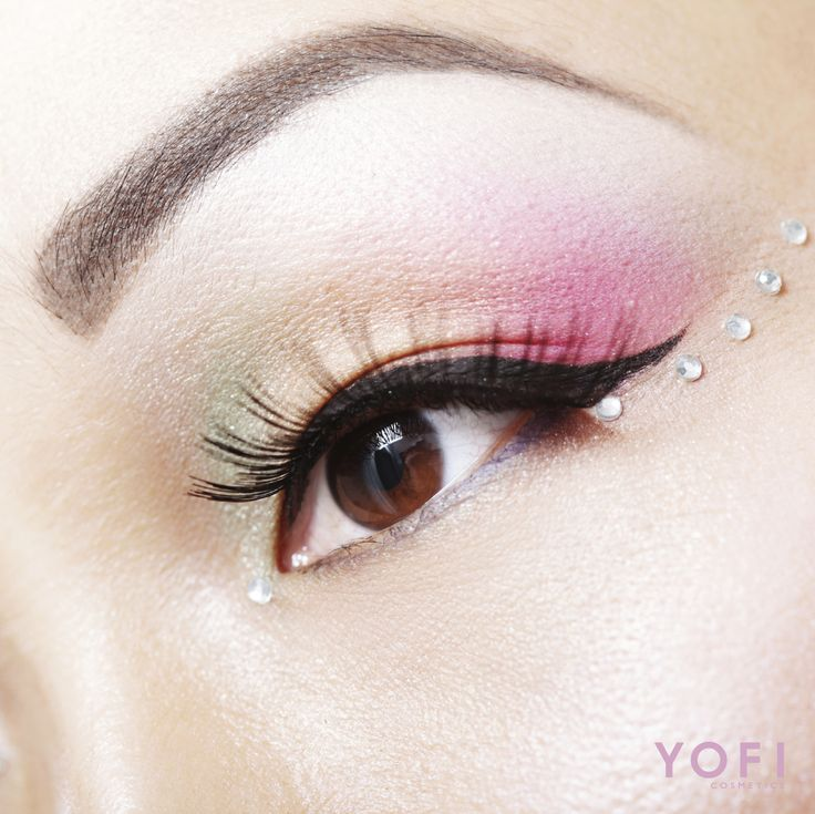 1000+ Images About Jewel Eye Makeup On Pinterest | Pink Lips Glitter Eye And Jewel Makeup