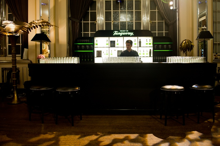 The Honest Group - Tanqueray - Bar Design and Build