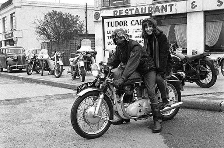 Vintage Cafe Racer.