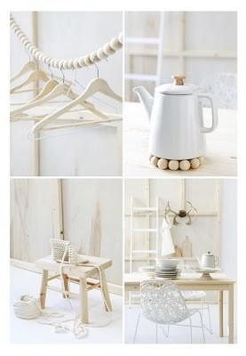 leapsofimagination:    White & wood