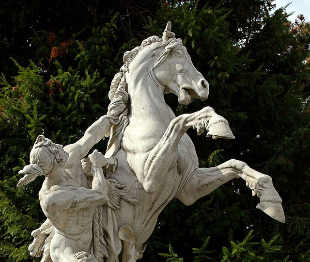 "Baroque Sculpture - ""The Horse Tamer"" Sculptor Maria ..."