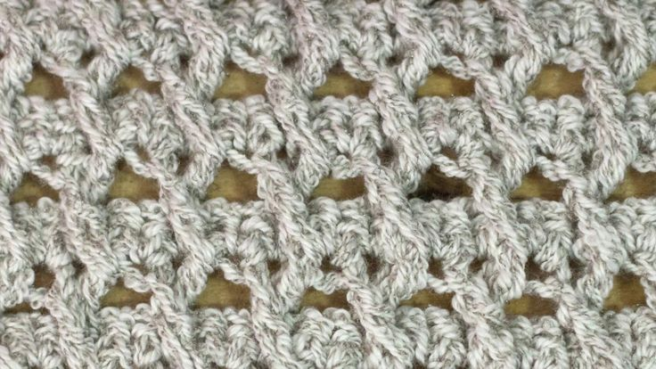 Crochet Stitch Rings Of Love : How to Crochet the Crossed Ripple Stitch Knit & Crochet Pinterest