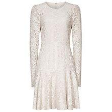 Buy Reiss Rosalin Lace Frill Dress, Monroe Online at johnlewis.com