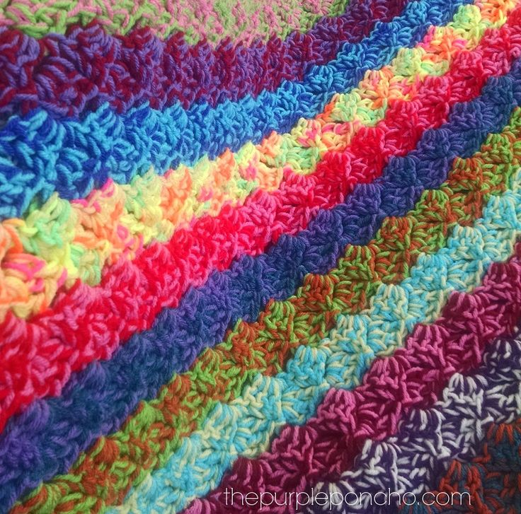 Crochet Patterns For Scrap Yarn Afghan : 58 best images about Crochet c2c on Pinterest Free ...