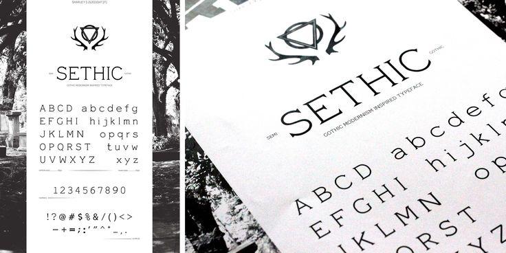 Font Design Poster - Sharley - DKV UMN