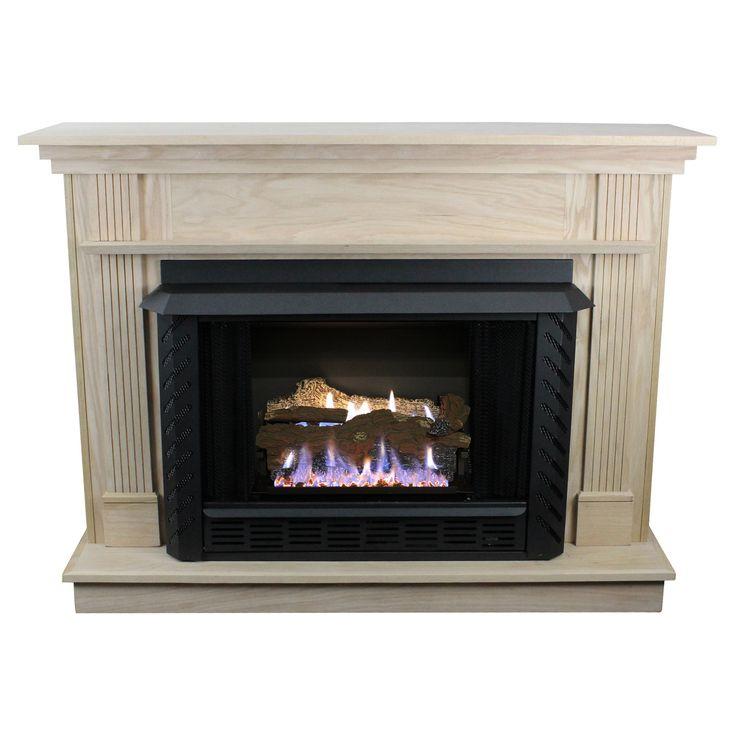 Ashley 34000 BTU Vent Free Gas Fireplace - UNIT048