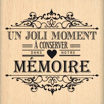 MOMENT A CONSERVER