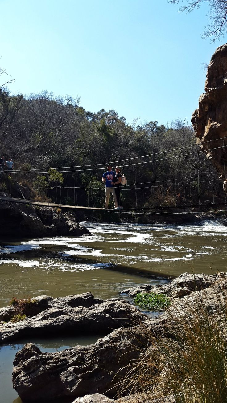 Hennops Hiking Trail just outside of Johannesburg. Some fun couple travel.    The Traversing Twosome