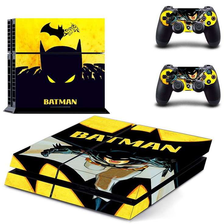 batman ps4 skin for console and controllers