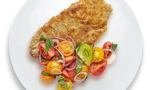 Thomasina Miers' veal schnitzel