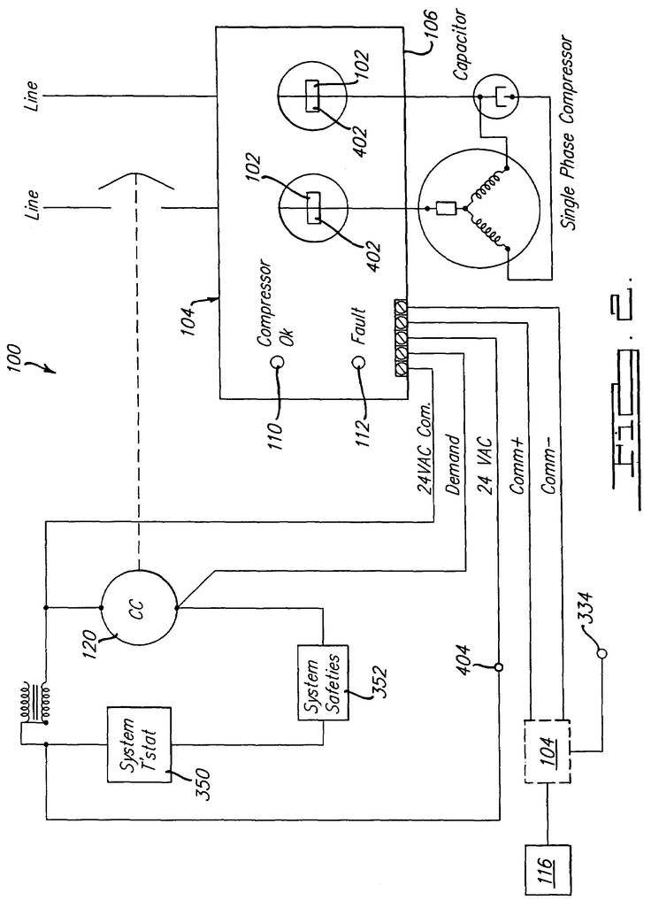 Copeland Potential Relay Wiring Diagram Run Capicator For In 2020