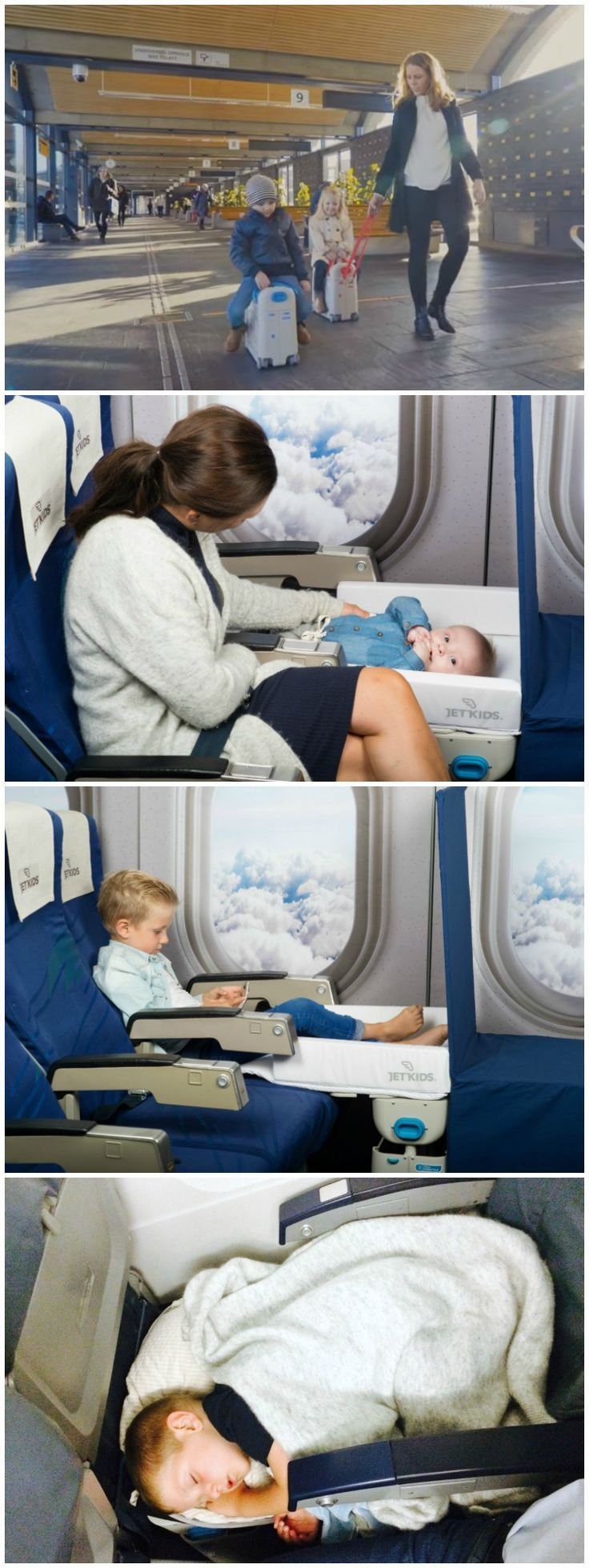 BedBox is your child´s hand luggage and fun ride-on suitcase that transforms into a comfy inflight bed, all in the very same box.