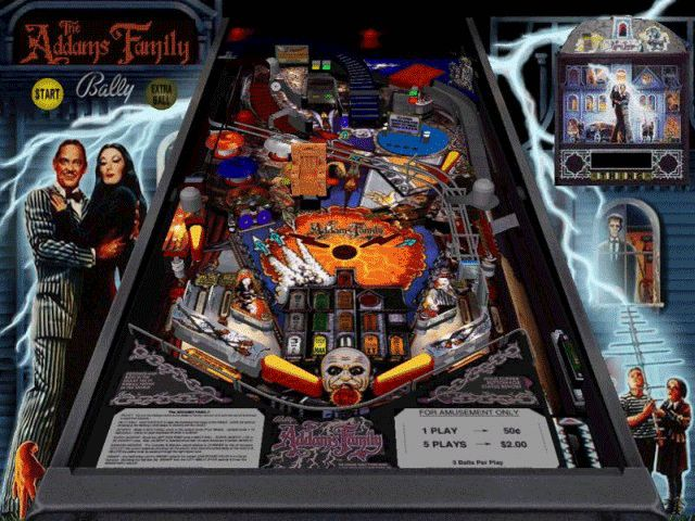 Addams family pinball by Midway Mfg. Co. I think this will be my fave! :D