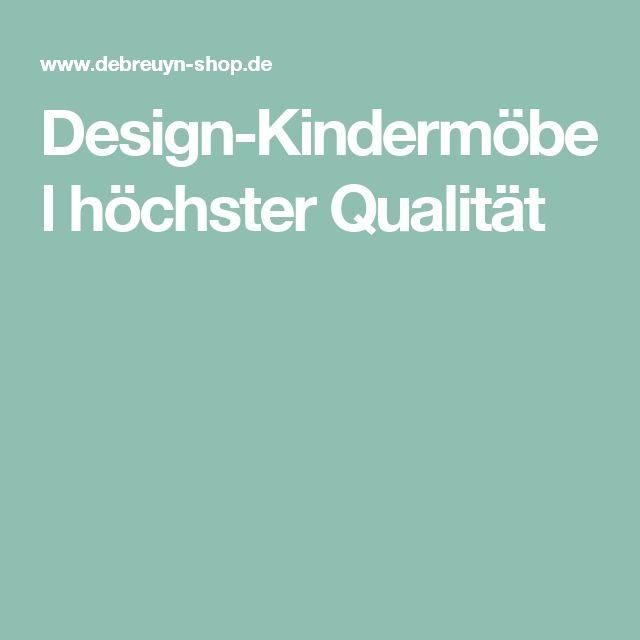 Design-Kindermöbel höchster Qualität