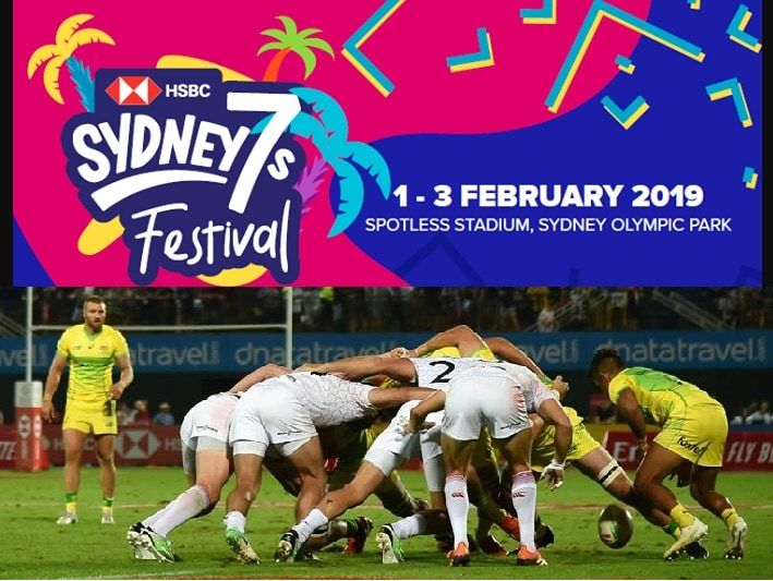 2019 Sydney 7s Rugby Live Streaming 1 3 February Hsbc World Rugby Sevens Series Sydney Australia World Rugby Rugby Sevens Fitness Blog