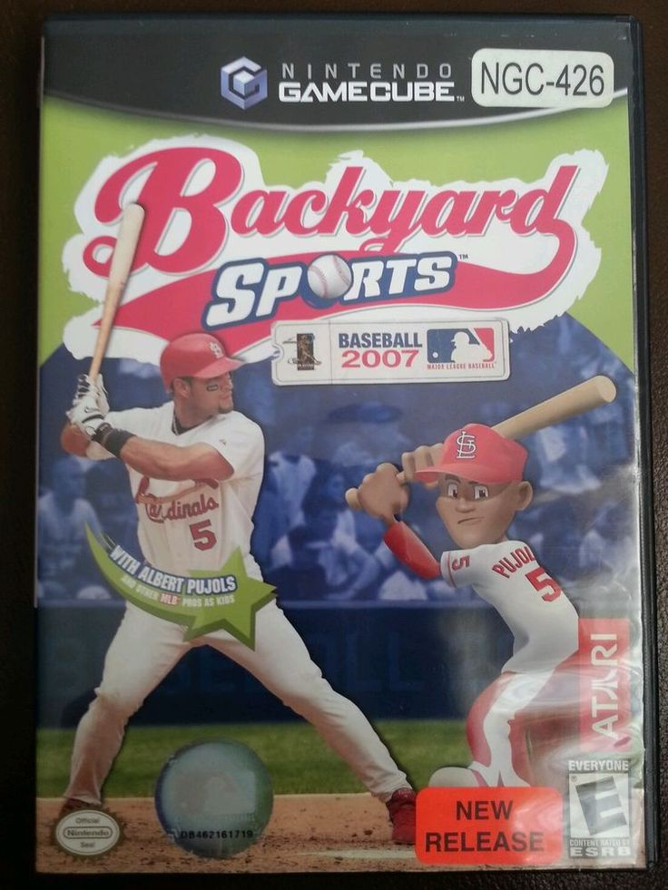 backyard sports baseball 2007 nintendo gamecube 2007 backyard sports