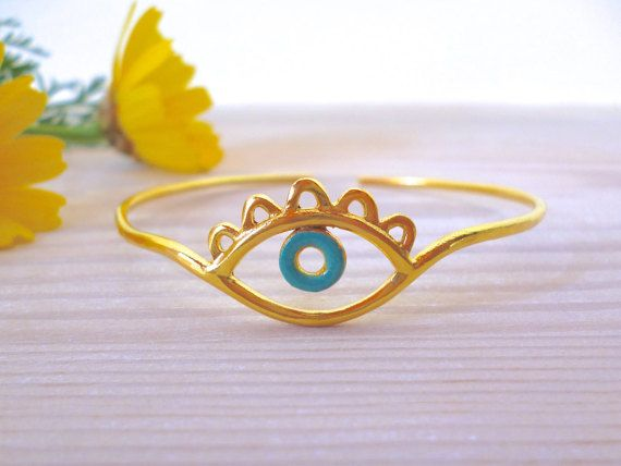 Hey, I found this really awesome Etsy listing at https://www.etsy.com/listing/269834388/evil-eye-bracelet-evil-eye-bangle