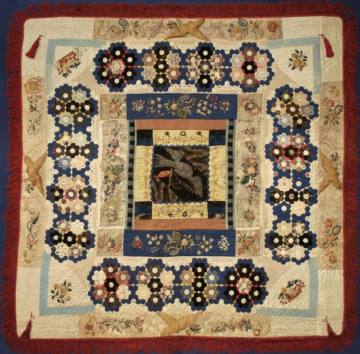 Today S Quilt Of The Day Is This Amazing Quilt Attributed To Elizabeth Keckley Ksum 1994 72 1