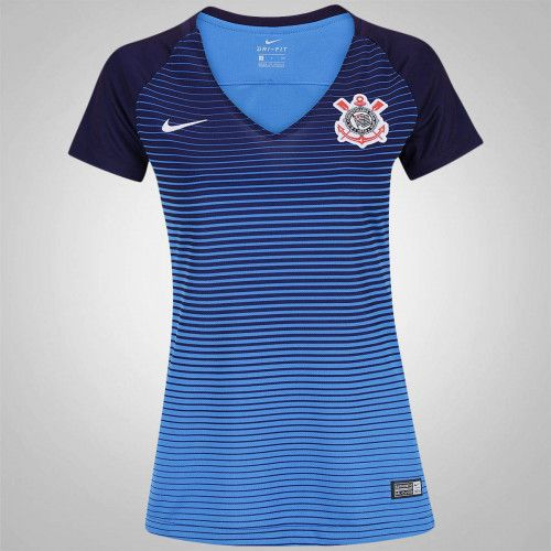 A Camisa do Corinthians III 2016 Nike possui Dri–Fit, tecido de elevado desempenho e de microfibra que absorve o suor. Compre!