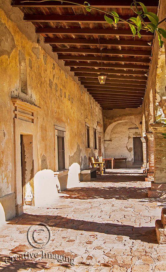 San Juan Capistrano Mission Inspired My Version Of The De La Vega Estate On A Much Smaller Scale Course