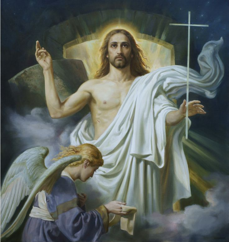 Воскресение Христово, живопись