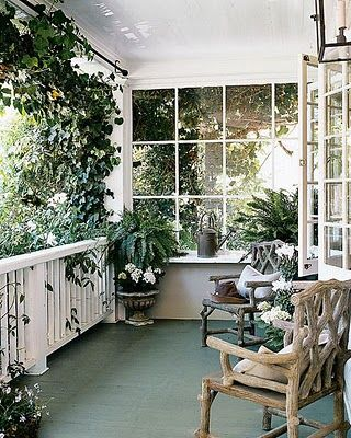heirloom philosophy: The Allure of a Cottage Front Porch