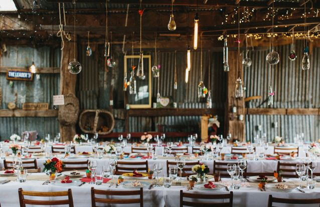 Our Australian barn wedding Photo by Erin + Tara
