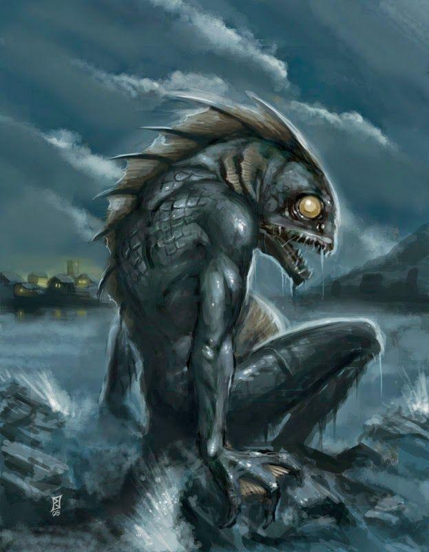 Sahuagin of the Sea of Graves