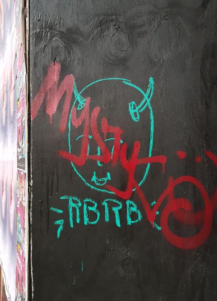 Av. Insurgentes y Sonora #streetart #taja #RBRB