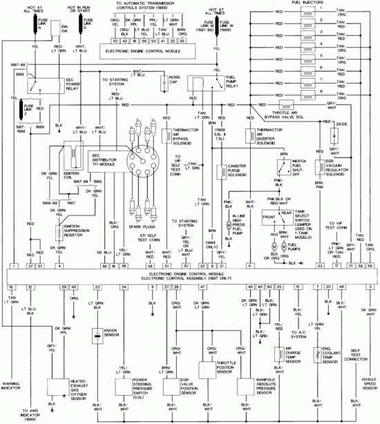 15 1989 Ford Truck Wiring Diagram Ford F250 Ford Diagram