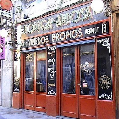 La Ardosa - Malasaña. Taberna clásica de Madrid. De tapas. Precio medio 15€