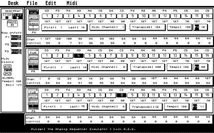 Atari ST : Pulsar 2