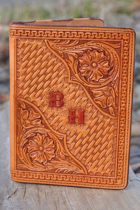 Custom, Hand tooled leather Samsung Galaxy tablet 10.1 case