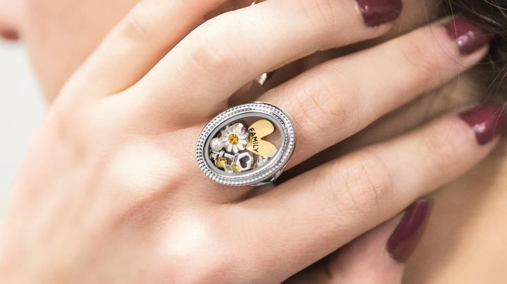 Origami Owl Ring! New Spring 2017 Collection includes Origami Owl Living Locket rings to hold your favorite charms! Click to shop and email kristy@foreversparkly.com for a free gift with purchase!