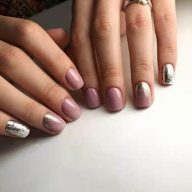 Diseños De Uñas 2021: Colección De Opciones Actuales De Manicura 2021 Winter Nail Art, Winter Nail Designs, Winter Nails, Spring Nails, Summer Nails, Nail Art Designs, Fake Gel Nails, Vacation Nails, Minx Nails