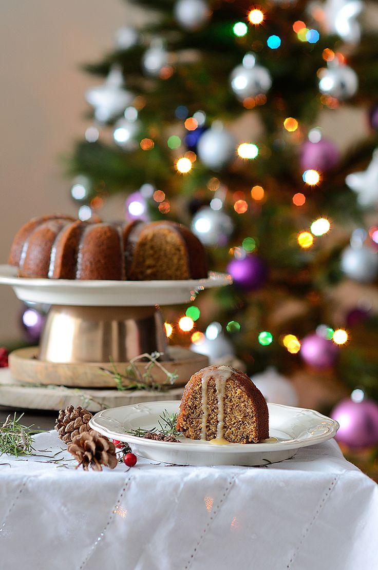 ¡Qué cosa tan dulce!: Bundt cake de sidra y especias