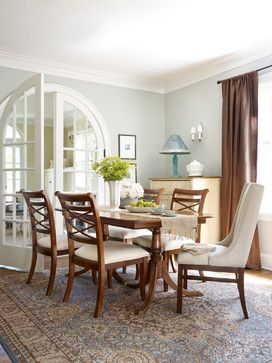 Winnetka Avenue   Traditional   Dining Room   Chicago   Boomgaarden  Architects Benjamin Moore Silver Sage It Looks Bluer In This Photo, Living  Room Abingdon ...