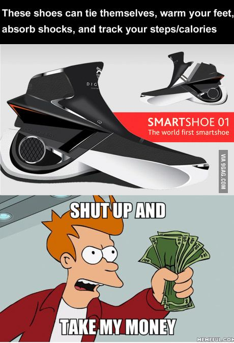 back to the future shoes just shut up and take my money